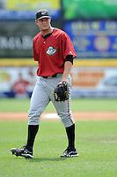 Altoona Curve pitcher Gerrit Cole (45) during game against the Trenton Thunder at Samuel L. Plumeri Sr. Field at Mercer County Waterfront Park on August 22, 2012 in Trenton, NJ.  Altoona defeated Trenton 14-2.  Tomasso DeRosa/Four Seam Images