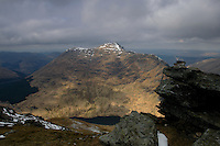 Beinn an Lochan from the summit of Beinn Luibhean, Arrochar Alps, Argyll & Bute<br /> <br /> Copyright www.scottishhorizons.co.uk/Keith Fergus 2011 All Rights Reserved