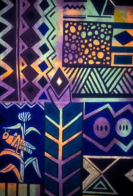Batik at National Gallery, Harare, Harare Province, Zimbabwe, Africa