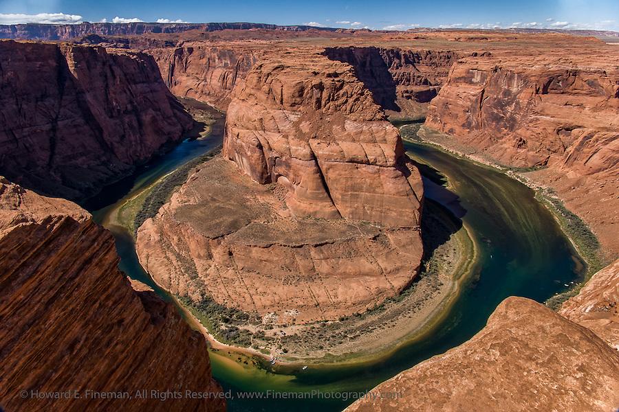 Horseshoe Bend, Colorado River, Page AZ