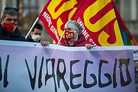 12.01.2021 - Demo Against the Sentence For Viareggio Train Derailment Disaster