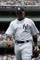 New York Yankees outfielder Andruw Jones #18 during a game against the Texas Rangers at Yankee Stadium on June 16, 2011 in Bronx, NY.  Yankees defeated Rangers 3-2.  Tomasso DeRosa/Four Seam ImagesNew York Yankees outfielder Andrew Jones #18 during a game against the Texas Rangers at Yankee Stadium on June 16, 2011 in Bronx, NY.  Yankees defeated Rangers 3-2.  Tomasso DeRosa/Four Seam Images
