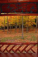 Presque Isle and autumn leaves, Marquette