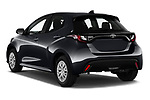 Car pictures of rear three quarter view of 2020 Toyota Yaris Dynamic 5 Door Hatchback Angular Rear