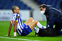 14th March 2021; Dragao Stadium, Porto, Portugal; Portuguese Championship 2020/2021, FC Porto versus Pacos de Ferreira; Pepe of FC Porto receives medical attention