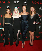 WEST HOLLYWOOD, CA - SEPTEMBER 13: Courtney Lopez, Harlow Jane, Katie Cassidy and Jasper Polish at the LA Premiere Screening Of I Love Us at Harmony Gold in West Hollywood, California on September 13, 2021. <br /> CAP/MPIFS<br /> ©MPIFS/Capital Pictures