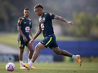 7th October 2020; Granja Comary, Teresopolis, Rio de Janeiro, Brazil; Qatar 2022 qualifiers; Everton of Brazil during training session