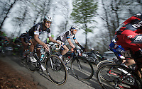 A focused Tom Boonen (BEL/OPQS) on top of the Kanarieberg<br /> <br /> Ronde van Vlaanderen 2014