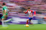 Antoine Griezmann of Atletico de Madrid runs with the ball during the La Liga 2018-19 match between Atletico de Madrid and Deportivo Alaves at Wanda Metropolitano on December 08 2018 in Madrid, Spain. Photo by Diego Souto / Power Sport Images