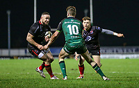 27th December 2020 | Connacht  vs Ulster <br /> <br /> Alby Mathewson is tackled by Jack Carty during the Guinness PRO14 match between Connacht and Ulster at The Sportsground in Galway. Photo by John Dickson/Dicksondigital