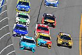 2017 NASCAR Monster Energy Cup Series - Daytona 500<br /> Daytona International Speedway, Daytona Beach, FL USA<br /> Sunday 26 February 2017<br /> D J Kennington, Kyle Busch, M&M's Toyota Camry and Matt Kenseth, DeWalt Toyota Camry<br /> World Copyright: Nigel Kinrade/LAT Images<br /> <br /> ref: Digital Image 17DAY2nk14158