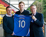 St Johnstone Players Sponsors Night, McDiarmid Park...09.05.12.Liam Craig.Picture by Graeme Hart..Copyright Perthshire Picture Agency.Tel: 01738 623350  Mobile: 07990 594431