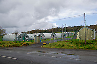 2020 09 24 Penally Army Training Camp used to house asylum seekers in Pembrokeshire, Wales, UK