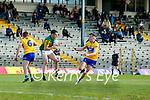 Brian Ó Beaglaoich, Kerry, during the Munster Football Championship game between Kerry and Clare at Fitzgerald Stadium, Killarney on Saturday.