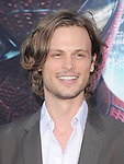 Matthew Gray Gubler attends  COLUMBIA PICTURES' THE AMAZING SPIDER-MAN Premiere held at Regency Village Theater in Westwood, California on June 28,2012                                                                               © 2012 Hollywood Press Agency