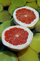 Alimentos, frutas Grapfruitt. Foto de Manuel Lourenço.