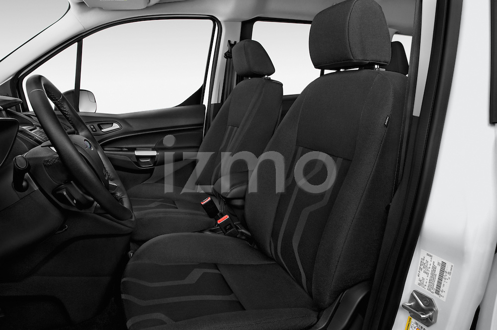 Front seat view of 2016 Ford Transit-Connect XLT-LWB 5 Door mini MPV Front Seat  car photos