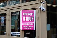 Nederland  Amsterdam - 31 december 2020.   Horeca bij het Rembrandtplein. Zonder overheidssteun binnenkort Te Huur.  Foto : ANP/ HH / Berlinda van Dam