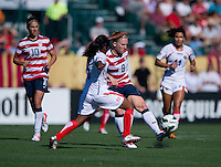 Amy Rodriguez.  The USWNT defeated Costa Rica, 8-0, during a friendly match at Sahlen's Stadium in Rochester, NY.