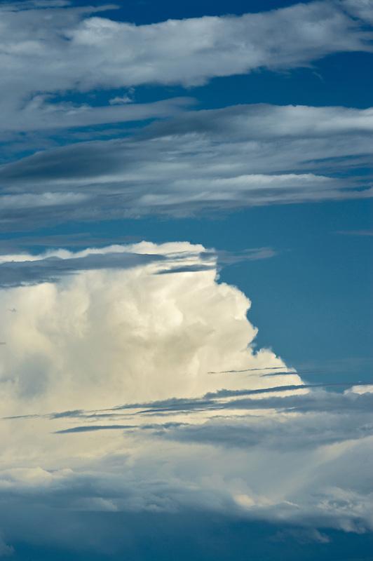 Large cumulous thunder cloud over the Palouse, Washington