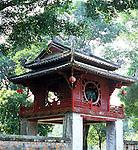 Khue Van Cac Gate - Khue Van Cac gate, the Constellation of Literature Pavillion, Temple of Literature, Van Mieu Pagoda, Hanoi, Viet Nam