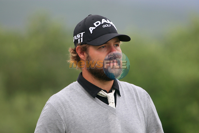 Ryan Moore (USA) after teeing off on the 9th tee during Day 2 of the Volvo World Match Play Championship in Finca Cortesin, Casares, Spain, 20th May 2011. (Photo Eoin Clarke/Golffile 2011)
