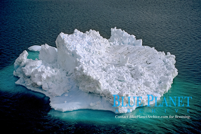 A Bergy Bit is a small Piece of an iceberg after melting or breaking off, Antarctica