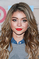 CULVER CITY, LOS ANGELES, CA, USA - NOVEMBER 12: Sarah Hyland arrives at the TOMS For Target Launch Event held at the Book Bindery on November 12, 2014 in Culver City, Los Angeles, California, United States. (Photo by David Acosta/Celebrity Monitor)