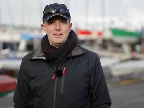 Dublin Bay Laser Class Captain, Brendan Hughes