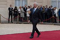 Paris (75)- Palais de l'Elysee- Ceremonie d installation de M. Emmanuel MACRON, PrÈsident de la RÈpublique, le dimanche 14 mai , Claude Bartelone