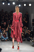 Catwalk<br /> at the Teatum Jones AW17 show as part of London Fashion Week AW17 at 180 Strand, London.<br /> <br /> <br /> ©Ash Knotek  D3230  17/02/2017