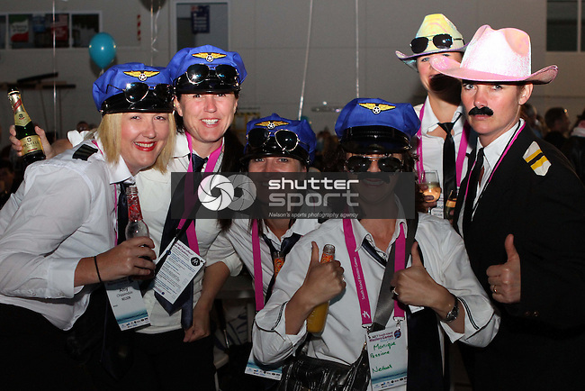 Hangar Party, SI Masters Games, 15 October 2011, Nelson, New Zealand<br /> Photo: Marc Palmano/shuttersport.co.nz