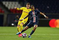 Paris St Germain's Presnel Kimpembe in action with Borussia Dortmund's Thorgan Hazard    <br /> Photo Pool/Panoramic/Insidefoto