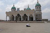 Addis Abeba, ethiopia, cattedrale Santissima Trinità, cristiani ortodossi,ortodoss christian