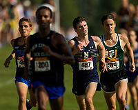 The U.S. Naval Academy Midshipman race in in the 32nd Annual Roy Griak Invitational cross country meet, Saturday morning at the Les Boistad Golf Course in Minneapolis, Minnesota.<br /> <br /> Charlotte Photographer - PatrickSchneiderPhoto.com