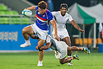 South Korea plays Sri Lanka during the17th Asian Games 2014 Rugby Mens Sevens tournament on October 02, 2014 at the Namdong Asiad Rugby Field in Incheon, South Korea. Photo by Alan Siu / Power Sport Images