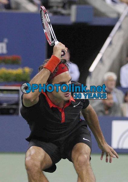 Roger Federer 9-2-2009 Photo By John Barrett/PHOTOlink