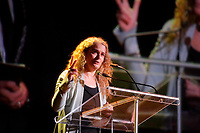 FILE -  l'astronaute Julie Payette<br /> lors du Gala benefice pour l'autisme le 11 mai 2016.<br /> <br /> <br /> PHOTO : Agence Quebec Presse