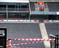 OCT 3 MK Dons Marshall Arena on Matchday