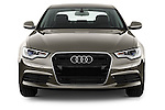 Straight front view of a 2014 Audi A6 AVUS 4 Door Sedan 2WD