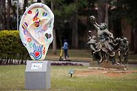 SÃO PAULO, SP 21.08.2019: PARQUE IBIRAPUERA-SP - O Parque Ibirapuera, situado na zona sul da capital paulista, foi inaugurado em 21 de agosto de 1954 e completa hoje 65 anos da inauguração. (Foto: Ale Frata/Código19)