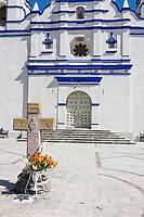Matatlan, Oaxaca; Mexico; North America. Church of Santiago.