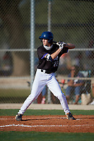 Landon Moran (22) during the WWBA World Championship at Lee County Player Development Complex on October 8, 2020 in Fort Myers, Florida.  Landon Moran, a resident of Altamonte Springs, Florida who attends Lake Brantley High School, is committed to Florida.  (Mike Janes/Four Seam Images)
