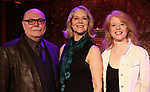 "Mark Hummel, Rebecca Luker and Deborah Grace Winer performing a press preview of  ""Got Rhythm""  at Feinsteins/54 Below on February 21, 2019 in New York City."