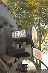 Essex, CT Steam Train excursion. Light and smokebox.