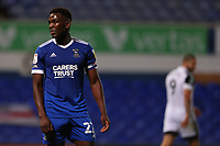 16th September 2020; Portman Road, Ipswich, Suffolk, England, English Football League Cup, Carabao Cup, Ipswich Town versus Fulham; A dejected Aristote Nsiala of Ipswich Town