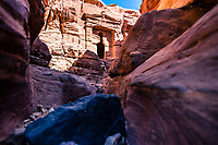 Solo female hiker explores hidden Petra, Jordan<br />