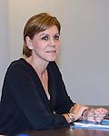 General secretary of Partido Popular, Maria Dolores de Cospedal, during the meeting between Partido Popular and Union Progreso y Democracia. May 23,2016. (ALTERPHOTOS/Rodrigo Jimenez)