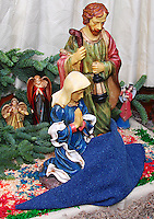 """The nativity at Las Posadas (Spanish for """"The Inns"""") symbolizes the trials that Mary and Joseph endured before finding a place to stay where Jesus could be born."""