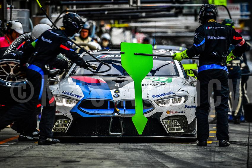 #82 BMW TEAM MTEK (DEU) BMW M8 GTE GTE PRO ANTONIO FELIX DA COSTA (PRT) TOM BLOMQVIST (GBR)
